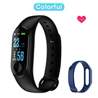 Fitness Band, Skyward Ecommerce Color Screen Activity Tracker with Free Replacement Strap, IP67 Waterproof Smart Watch with Heart Rate/Sleep Monitor, Blood Pressure/Oxygen, Sedentary Reminder