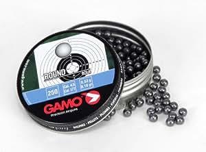 Gamo .177 Cal, Round Lead Balls, 250ct