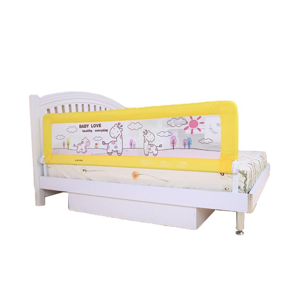 Baby Safe Bed Rail Crib Rail 1.8meter KB023 Yellow