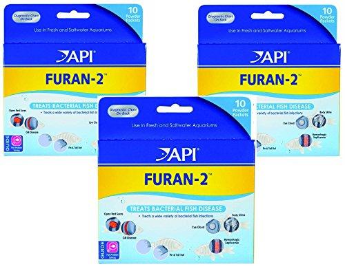 (3 Pack) Furan-2 Powder, 10 Packets each by API