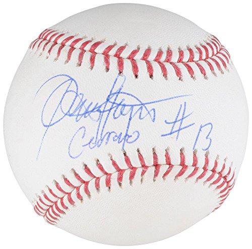 Dennis Haysbert Major League Autographed Baseball with Cerrano Inscription - BAS - Beckett Authentication