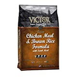 VICTOR Chicken Meal and Brown Rice Formula Dry Dog Food, 5 lb. Bag For Sale