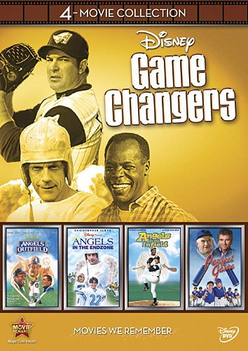 Disney Game Changers 4-Movie Collection (Angels in the Outfield  Angels in the Infield  Angels in the Endzone  Perfect Game)