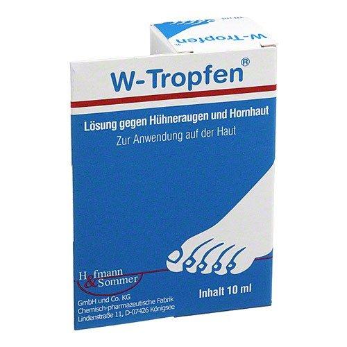 W-Tropfen, Lösung gegen Hühneraugen und Hornhaut,10ml