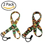 #8: 2 Pack Ukulele Strap Adjustable Neck Strap - Hawaiian Style Shoulder Strap for Soprano, Concert and Tenor.