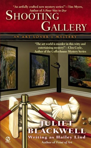 Download By Juliet Blackwell writing as Hailey Lind Shooting Gallery: An Art Lover's Mystery [Mass Market Paperback] pdf