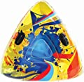 """Aqua Leisure Winter Infusion Inflatable Triangle Wedge Snow Tube Sled for 2 ( Two ) Riders on Sledding Hill, Fast yet Safe, with 4 ( Four ) Big Durable Grip Handles and Repair Kit, 48"""""""