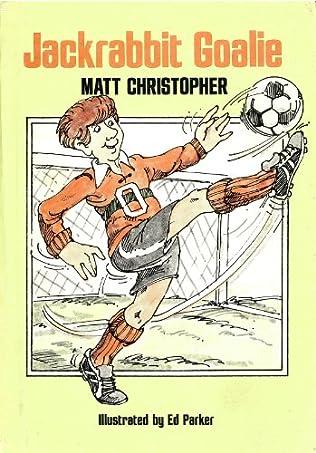 book cover of Jackrabbit Goalie