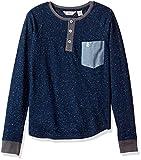 Penguin Little Boys' Long Sleeve T-Shirt (More Styles Available), Dress Blues, 4