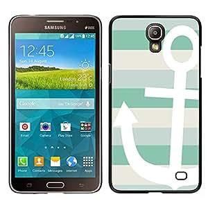 EJOY---Cubierta de la caja de protección para la piel dura ** Samsung Galaxy Mega 2 ** --Barco de Verano Sun Sailing Líneas