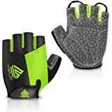 HTZPLOO Bike Gloves Bicycle Gloves Cycling...