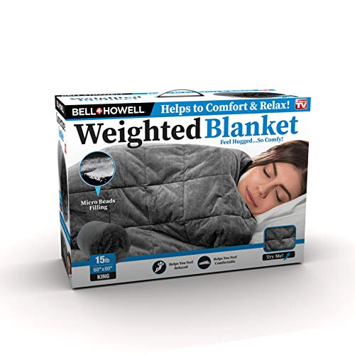 Cheap BH Weighted Blanket 15LBS Black Friday & Cyber Monday 2019