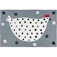 Jellybean Cool Grey Chick Rug