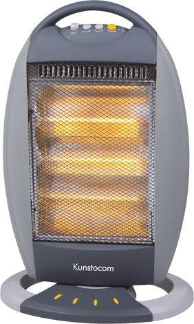 Kunstocom Plastic 3 Tube Halogen Room Heater Grey Kht 120ys
