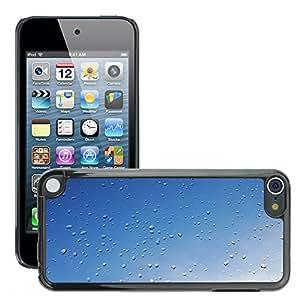 Etui Housse Coque de Protection Cover Rigide pour // M00152799 Lluvia después de la lluvia Una Gota De // Apple ipod Touch 5 5G 5th