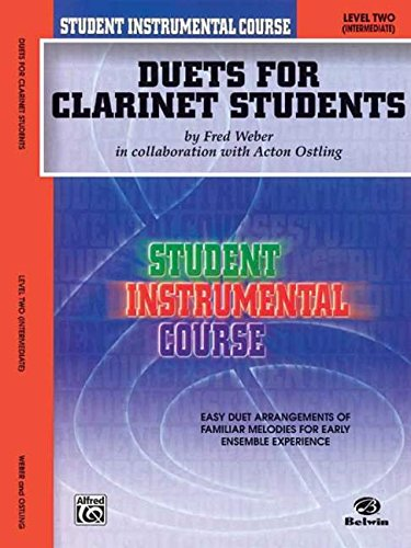Student Instrumental Course Duets for Clarinet Students: Level I PDF
