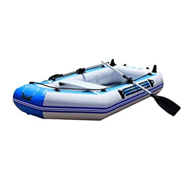 Portable Thicken Hard Bottom Inflatable Boat with Aluminum Paste