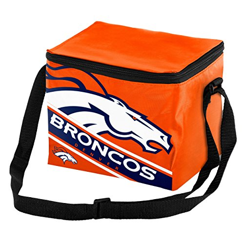 Denver Broncos Big Logo Stripe 6 Pack ()