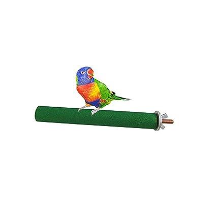 ueetek posatoi para jaula para pájaros Parrot de plástico stand ...