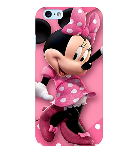 Printvisa Polka Dot Pink Mickey Mouse Back Case Cover Amazon In Electronics