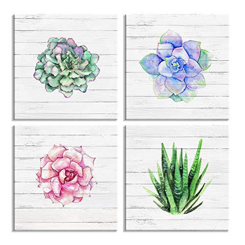 Plants Oil Painting - Home Wall Art Décor Succulent Plants Simple Life Canvas Oil Paintings Posters Prints 12