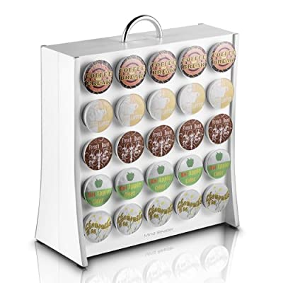 Mind Reader The Wall 50 Capacity K-Cup Coffee Pod Display Rack Holder by EMS Mind Reader LLC