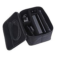 Ocamo Handle Bag Case for Nintendo Switch Portable High Capacity Carrying Bag Travel Game Storage Case Black