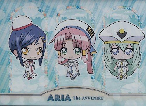 ARIA The AVVENIRE Clear File (Aika & Mizunashi Akarisato & Alice)