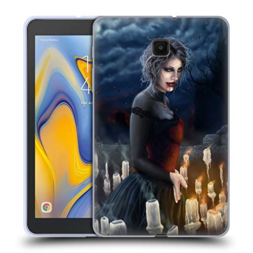 Official Tiffany Tito Toland-Scott Woman with Candles Vampire and Werewolves Soft Gel Case Compatible for Galaxy Tab A 8.0 (2018) -