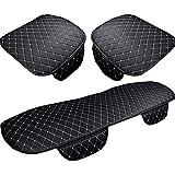 SEAMETAL Seat Cover Car Seat Protector , Car Seat Leather Seat Protector , Car Seat Cushion Cover Pad 3PCS