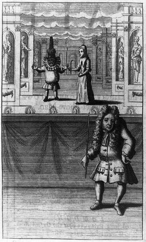 Photo: Robert Powel the Puppet Show Man,Second Tale of a Tub,1715,British Cartoons