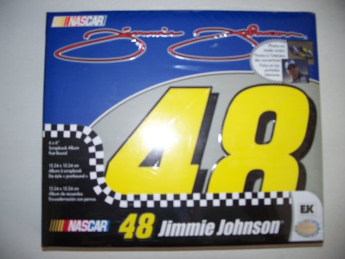 Nascar - 48 Jimmie Johnson Scrapbook Album