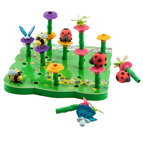 (Educational Insights Bright Basics Peg Garden)