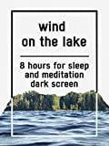 Wind on the lake, 8 hours for Sleep and Meditation, dark screen