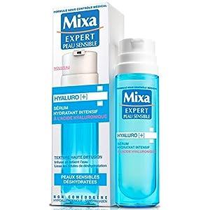 Mixa Expert Peau Sensible - Sérum Hydratant Hyaluro [+] Intensif à l'Acide Hyaluronique - 50 ml