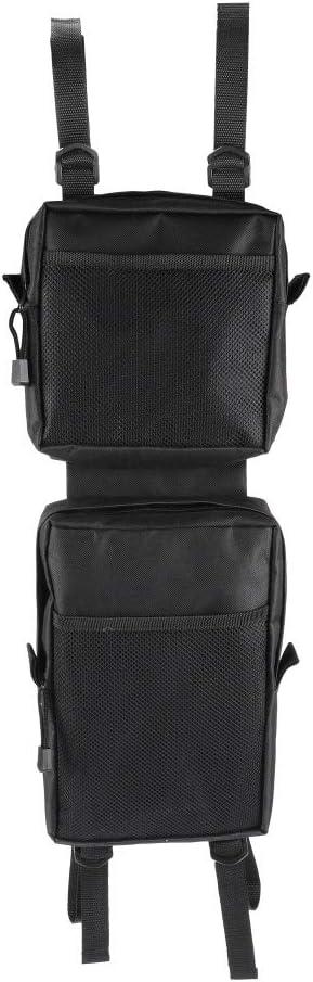 2x Universal Waterproof Cargo Storage Hunting Fender Side Bags ATV UTV 4-Wheeler