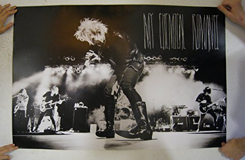 Posters: My Chemical Romance Poster - Danger Days, The True Lives Of The Fabulous Killjoys, Live (36 x 24 inches)