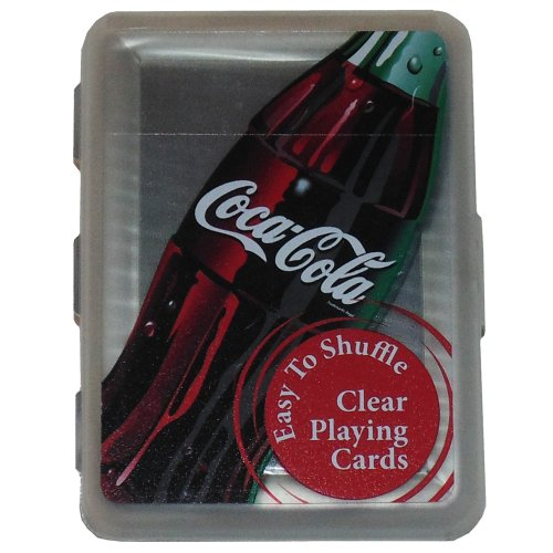 Coca Cola Clear Playing Cards
