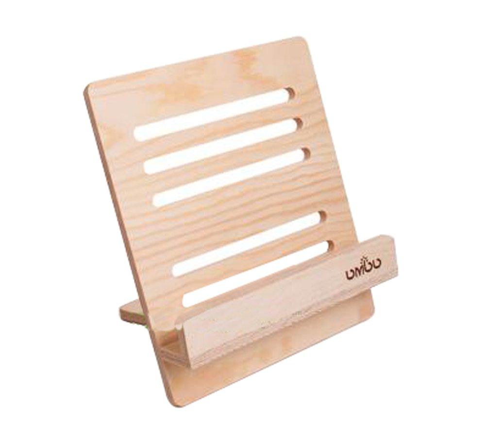 Alien Storehouse Wood Lightweight Adjustable Portable Universal lazy Ipad Stand Holder
