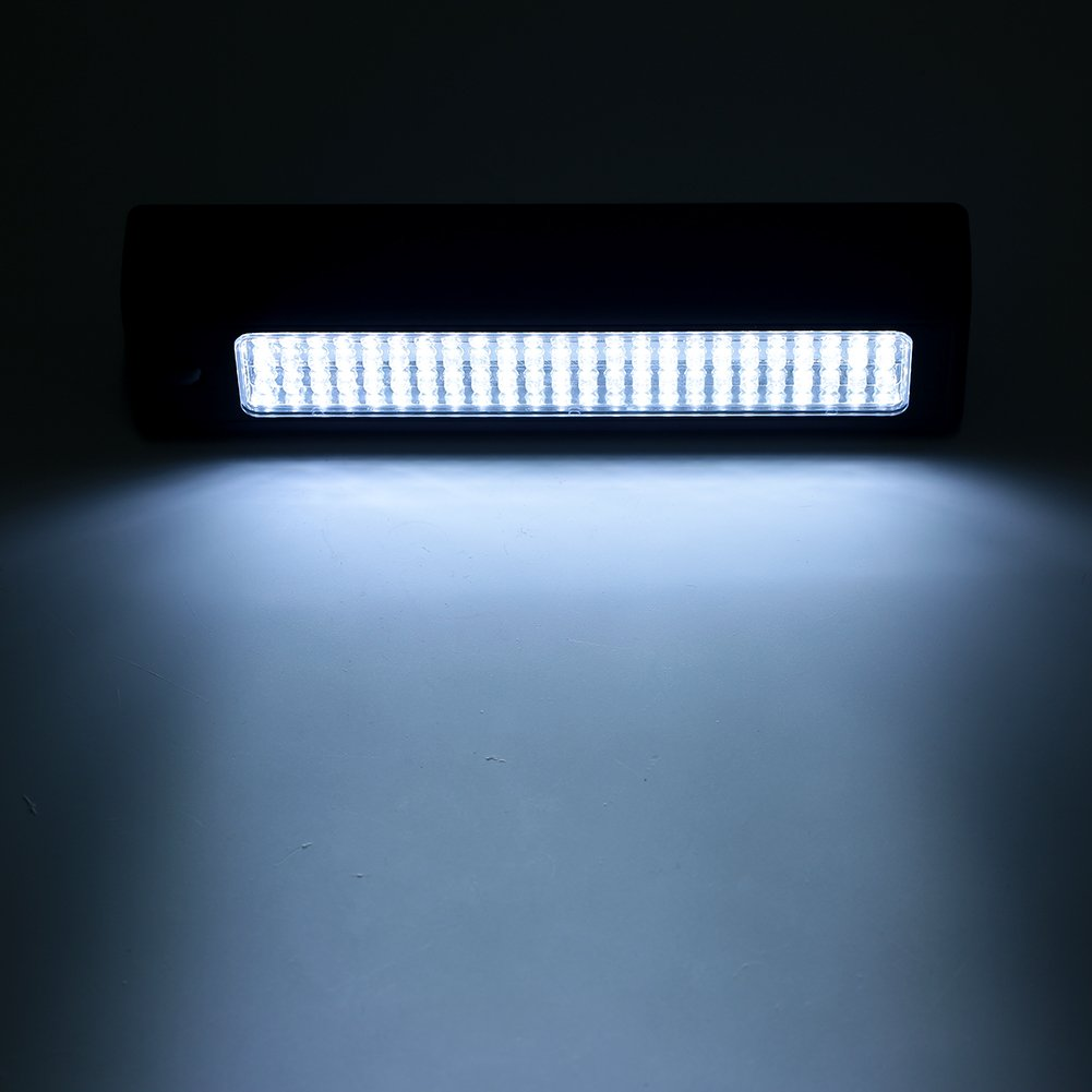 LED Torch Inspection Lamp 72 LEDs Work Light Super Bright COB LED Flashlight Camping Light with Magnetic Base