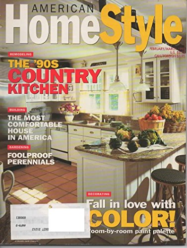 American Homestyle Magazine, February March 1995