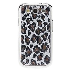ZXM-Caso duro del patrón del leopardo fresco con el Rhinestone para Samsung Galaxy S3 I9300