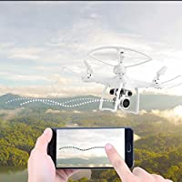 Cewaal S10 FPV Drone With 720P Camera Live Video, Altitude Hold Hover Headless Mode Remote Control Quadcopter Drone for Beginners