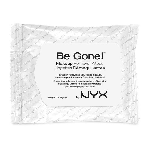 NYX Be Gone Makeup Remover Wipes - White
