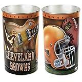 Browns WinCraft NFL Wastebasket