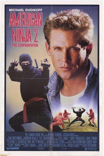 Amazon.com: American Ninja 2 Enfrentamiento – Póster de la ...