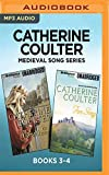 Catherine Coulter Medieval Song Series: Books 3-4: Warrior's Song & Fire Song