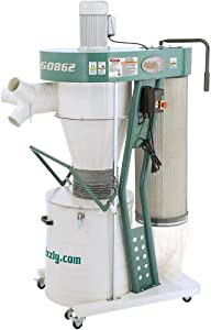 Grizzly Industrial G0862-3 HP Portable Cyclone Dust Collector
