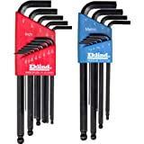 Eklind 13222 Combo Pack Ball-Hex-L Key Set, Contains 13213 and 13609