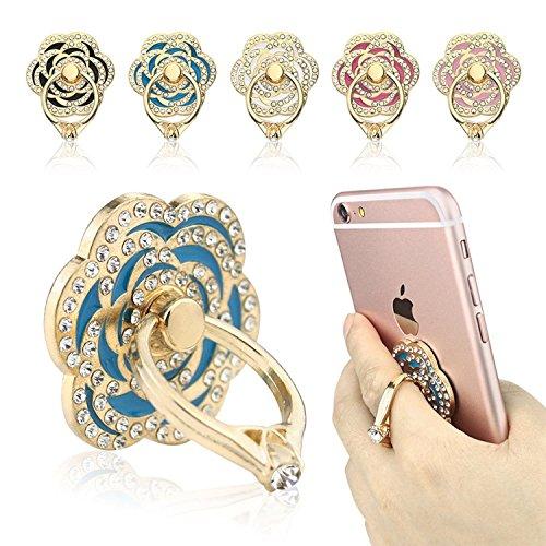 Phone Stand, ECVILLA Luxury rose shape Universa...